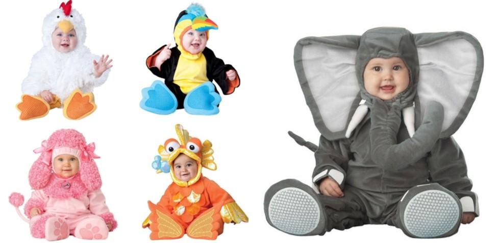 Hayvan Figürlü Bebek Kostümü
