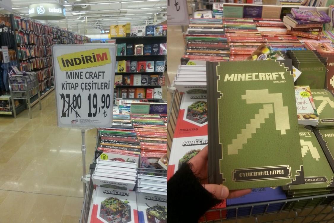 Minecraft Kitap