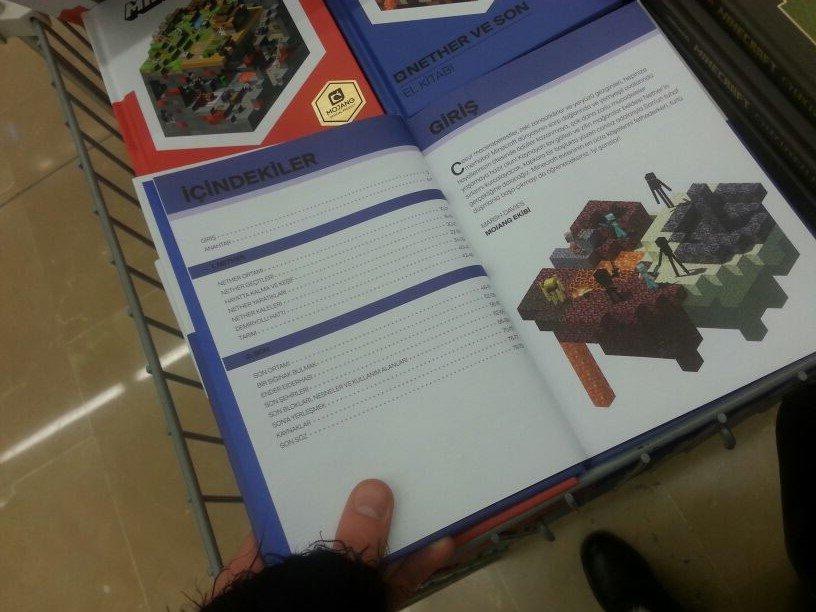 Minecraft Kitapları