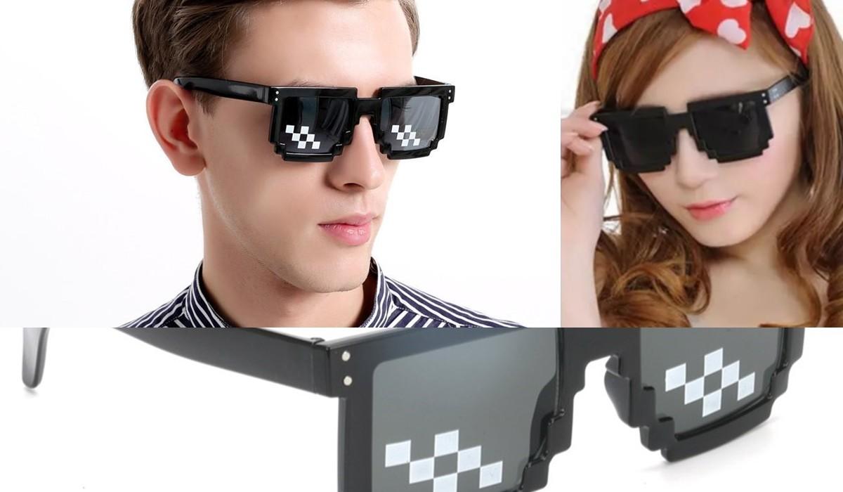 Pixel Retro Gözlük