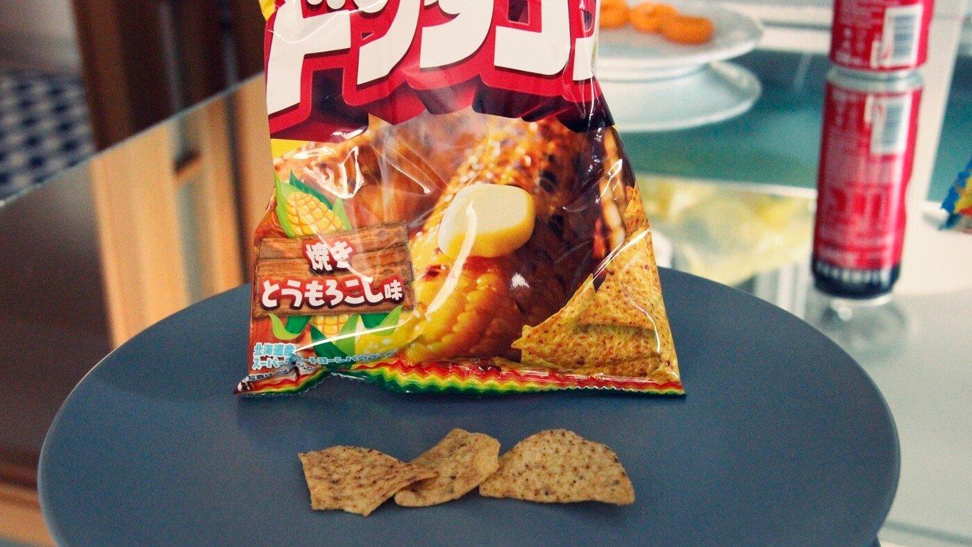 Tereyağlı Mısır Aromalı Japon Cipsi